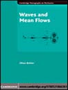 Waves and Mean Flows (eBook)