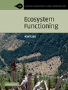 Ecosystem Functioning (eBook)