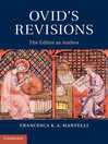 Ovid's Revisions (eBook): The Editor as Author