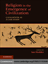 Religion in the Emergence of Civilization (eBook)