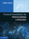 Practical Foundations for Programming Languages (eBook)