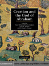 Creation and the God of Abraham (eBook)