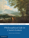 Philosophical Life in Cicero's Letters (eBook)