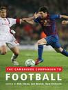 The Cambridge Companion to Football (eBook)