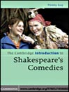The Cambridge Introduction to Shakespeare's Comedies (eBook)