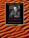 The Cambridge Companion to Camus (eBook)