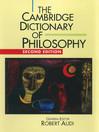 The Cambridge Dictionary of Philosophy (eBook)
