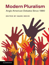 Modern Pluralism (eBook)