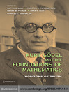 Kurt Godel and the Foundations of Mathematics (eBook)