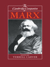 The Cambridge Companion to Marx (eBook)