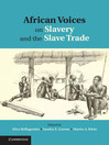 African Voices on Slavery and the Slave Trade (eBook)