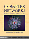 Complex Networks (eBook): Structure, Robustness and Function