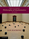 Why Is There Philosophy of Mathematics At All? (eBook)