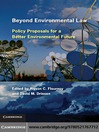 Beyond Environmental Law (eBook): Policy Proposals for a Better Environmental Future