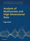 Analysis of Multivariate and High-Dimensional Data (eBook)