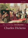 The Cambridge Introduction to Charles Dickens (eBook)