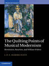 The Quilting Points of Musical Modernism (eBook)
