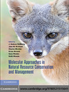 Molecular Approaches in Natural Resource Conservation and Management (eBook)