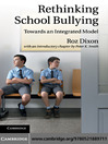 Rethinking School Bullying (eBook): Towards an Integrated Model