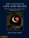 The Language of Life and Death (eBook)