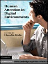 Human Attention in Digital Environments (eBook)