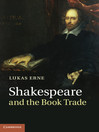 Shakespeare and the Book Trade (eBook)