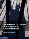 The Prohibition of Torture in Exceptional Circumstances (eBook)