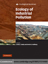 Ecology of Industrial Pollution (eBook)