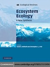Ecosystem Ecology (eBook): A New Synthesis
