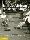 Inside African Anthropology (eBook): International African Library Series, Book 44