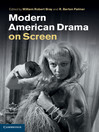 Modern American Drama on Screen (eBook)