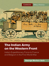 The Indian Army on the Western Front (eBook): India's Expeditionary Force to France and Belgium in the First World War