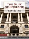 The Bank of England (eBook): 1950s to 1979