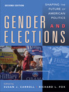 Gender and Elections (eBook): Shaping the Future of American Politics
