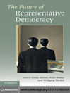The Future of Representative Democracy (eBook)