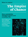 The Empire of Chance (eBook)