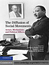 The Diffusion of Social Movements (eBook): Actors, Mechanisms, and Political Effects