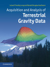 Acquisition and Analysis of Terrestrial Gravity Data (eBook)