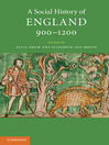 A Social History of England, 900-1200 (eBook)