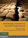 Developing Countries in the GATT Legal System (eBook)