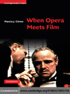When Opera Meets Film (eBook)