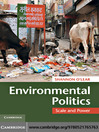 Environmental Politics (eBook): Scale and Power