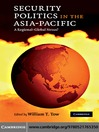 Security Politics in the Asia-Pacific (eBook)