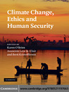 Climate Change, Ethics and Human Security (eBook)