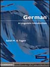 German (eBook): A Linguistic Introduction