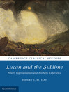 Lucan and the Sublime (eBook)