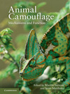Animal Camouflage (eBook): Mechanisms and Function