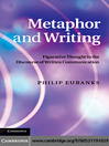 Metaphor and Writing (eBook)