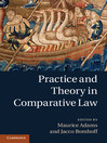 Practice and Theory in Comparative Law (eBook)