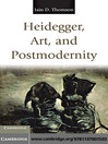 Heidegger, Art, and Postmodernity (eBook)